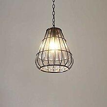 MKKM Lampe de Pendentif En Métal de Fer