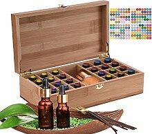 MKNZOME Boîte de rangement pour huiles