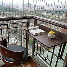 MMAXZ Table Bureau de Balcon, Table Suspendue