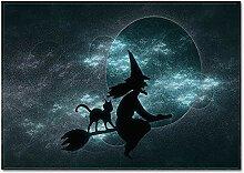 MMHJS Le Tapis Spécial Halloween Convient À La