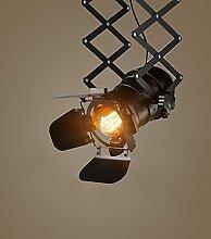 MMIN Loft Rétro Plafond Flexible Lumière Vintage