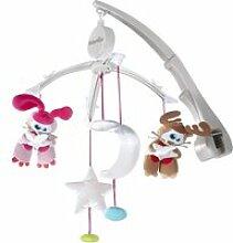 Mobile musical babymoov pour lit parapluie étoiles