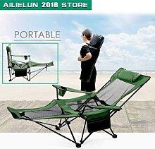 Mobilier d'extérieur chaise pliable tabouret