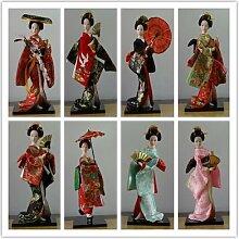 Mobilier en soie japonais Oriental, 24 types,