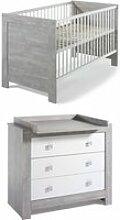 Mobilier petite chambre bébé oak 2PCS-OAK