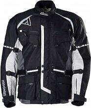 Modeka Tourex veste textile male    - Noir/Gris -