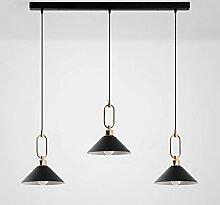 Moderne 3-Flamme Suspension Lumière,Table à