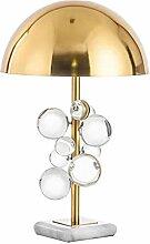Moderne Coloré Cristal Lampe De