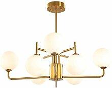 Moderne Golden Suspension Satellite Luminaire,G9