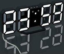 Moderne Horloge Numérique LED Bureau Clock 24/12