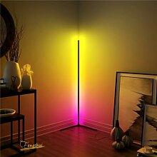 Moderne LAMPADAIRE LED Rvb Lampadaire Coloré