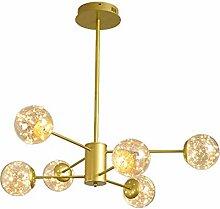 Moderne LED Décoration Salon Suspension Satellite
