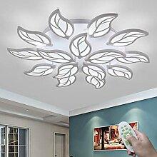Moderne LED Fleur Plafonnier Dimmable Avec