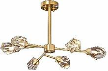 Moderne Luxe Cristal Sputnik Lustres,G9 Fixation
