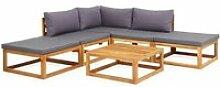 Moderne mobilier de jardin reference canberra