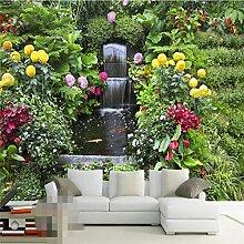 Moderne photo murale papier peint 3D jardin