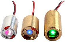 Module Laser RGB, 100mW, rouge, 650nm, bleu,