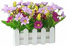 MoGist Fleurs Pots Bac à Fleurs pour Plante en