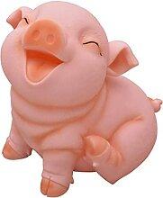 Money Bank Pig Tirelire PVC Mignon Petit Cochon