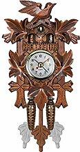 Monland Horloge Murale Oiseau DéCoratif à la