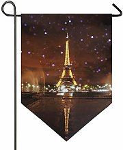 MontoJ - Drapeau vertical double face - Tour