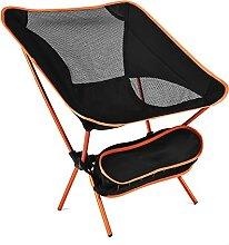 Moonchair Chaise de camping ultra légère Chaise