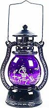 Moonvvin Lanterne à LED vintage pour Halloween -