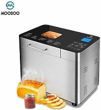 MOOSOO – Machine à pain automatique 15 en 1, en