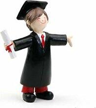 Mopec Figurine Gâteau Graduation Chico