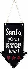 Mopec Tableau pour Suspension Affichage de Noël,