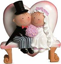 Mopec Y460- Figurine pour gâteau, Couple de