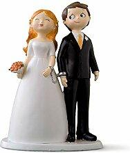 Mopec Y835 Figurine pour gâteau Design Couple de