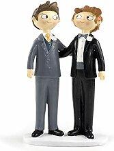 Mopec Y845 Figurine pour gâteau, Couple de