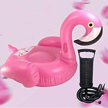 Mopoq Gonflable Anneau de Natation, 150cm Flamingo