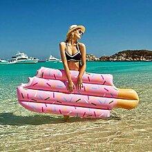 Mopoq Piscine Gonflable Flotteur Popsicle PVC
