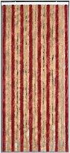 MOREL - Rideau de porte Florence chenilles 90x220