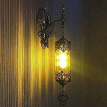 Mosaïque Glass Wall Sconce Lampe Main Madmade