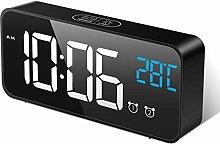 MOSUO Réveil Numérique, Horloge Digitale Réveil