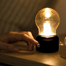 Mothinessto Ampoule Lampe USB Rechargeable