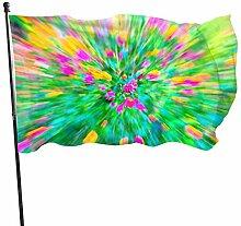 Motion Blur - Fanion à fleurs Lantana - Bannière