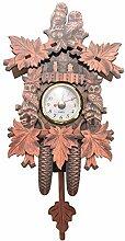 Motyy Horloge Murale Oiseau DéCoratif à la