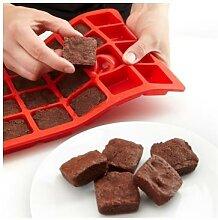 Moule 24 mini-brownies silicone Lekue