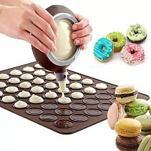Moule 3D en Silicone pour pâtisserie Macaron,