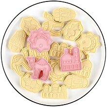 Moule à biscuits EID Mubarak, en forme de