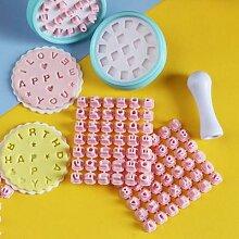 Moule à biscuits en forme de lettres et de