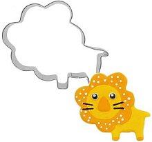 Moule à biscuits en forme de Lion, ustensiles de