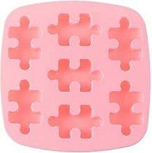 Moule à chocolat en forme de puzzle en silicone