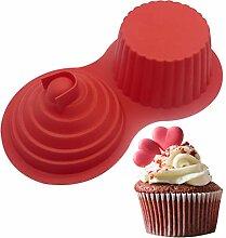 Moule à cupcake géant en silicone pour muffins