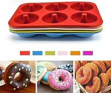 Moule à Donuts en Silicone, pour pâtisserie,