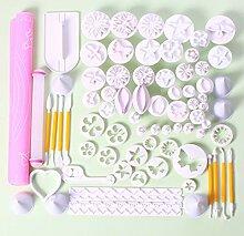 Moule à gâteau -75 pièces bricolage cuisson